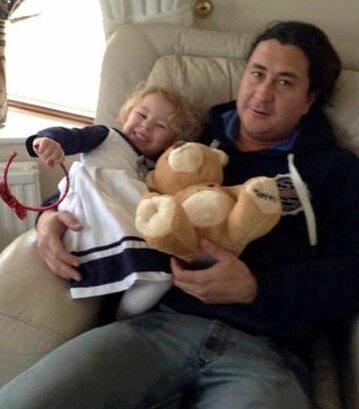 Madison z ojcem