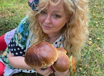 Magda Gessler na grzybobraniu