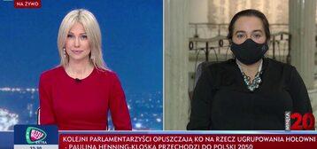 Magdalena Ogórek i Anita Kucharska-Dziedzic