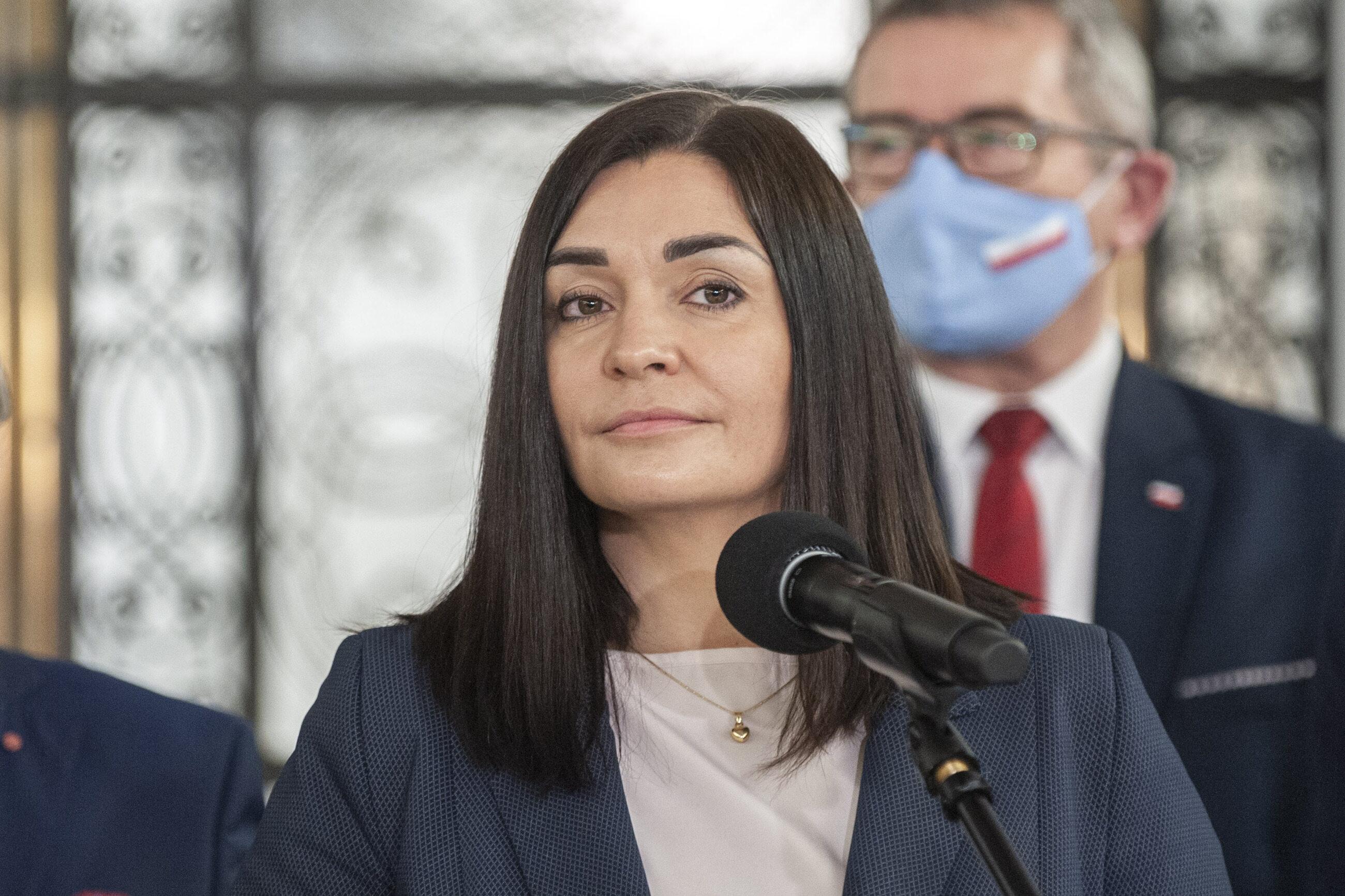 Rzeczniczka Porozumienia odwołana z komisji na wniosek Suskiego. Sroka: ZP ma się niczym caryca Katarzyna