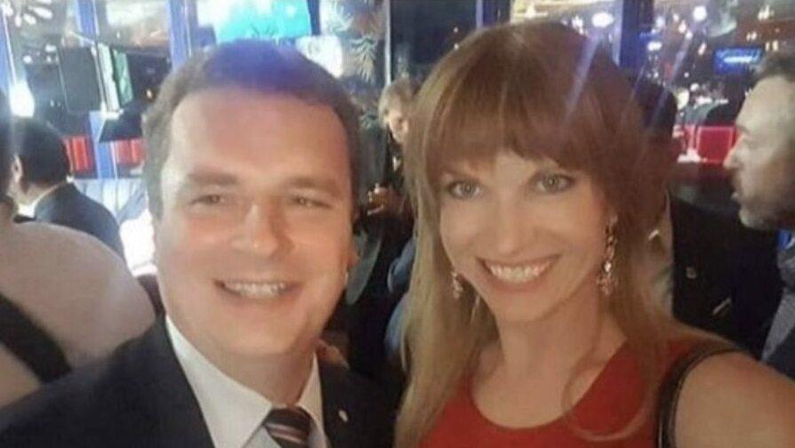 Magdalena Wilk i jej mąż Jacek