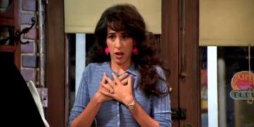 """Maggie Wheeler jako Janice w serialu """"Przyjaciele"""""""