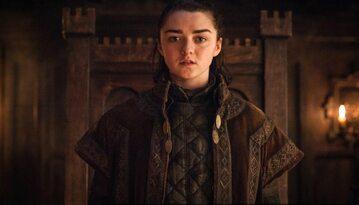 """Maisie Williams jako Arya Stark w serialu """"Gra o tron"""""""