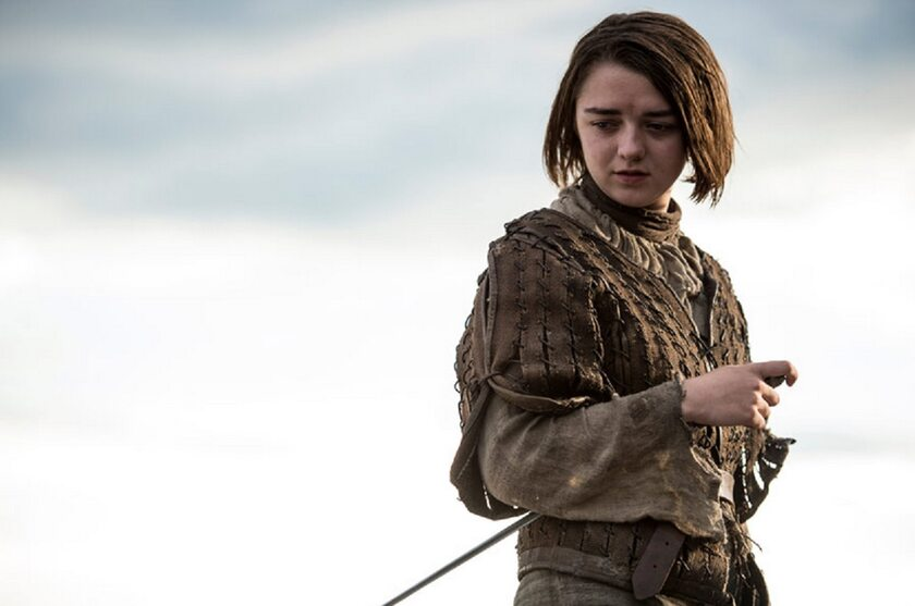 Maisie Williams jako Arya Stark