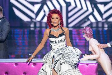 Maja Hyży jako Rihanna