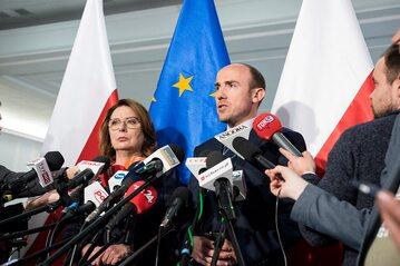 Małgorzata Kidawa-Błońska i Borys Budka