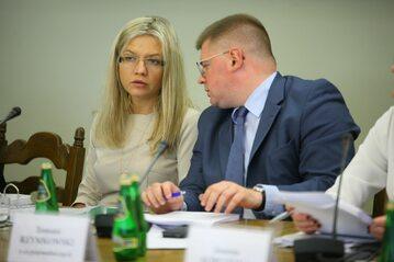 Małgorzata Wassermann i Tomasz Rzymkowski