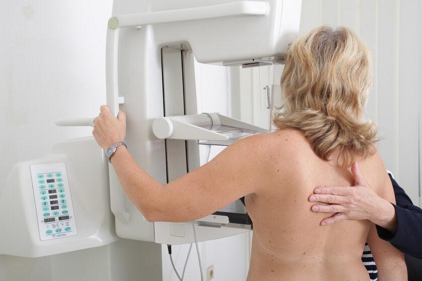 Mammografia, zdjęcie ilustracyjne