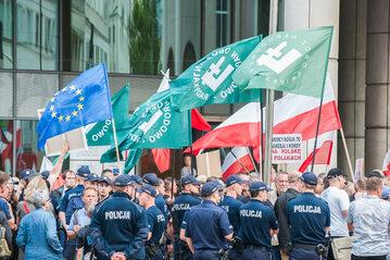 Manifestacja narodowców