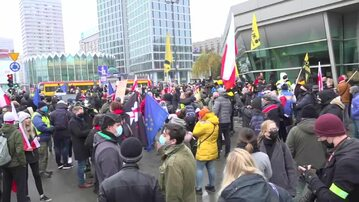 Manifestacja w Warszawie, 13 grudnia