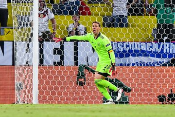 Manuel Neuer w meczu z Francją