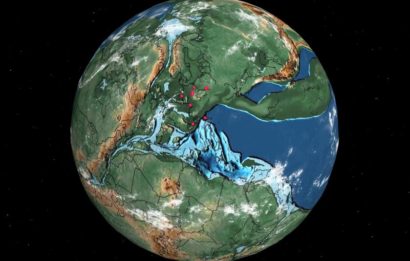 Mapa dziejów Ziemi