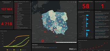 Mapa koronawirusa w Polsce