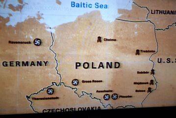 Mapa, która pojawiła się w serialu Netfliksa