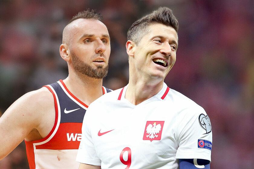 Marcin Gortat, Robert Lewandowski