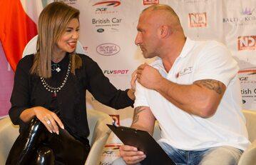 Marcin Najman i Edyta Górniak