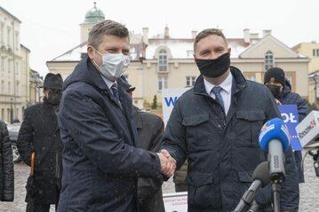 Marcin Warchoł i Waldemar Kotula