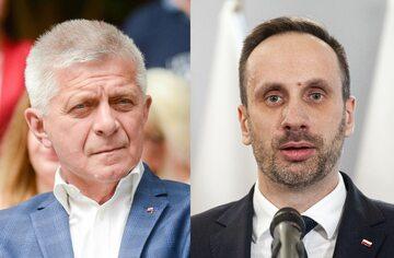 Marek Belka i Janusz Kowalski