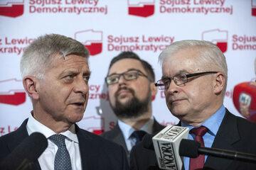 Marek Belka i Włodzimierz Cimoszewicz