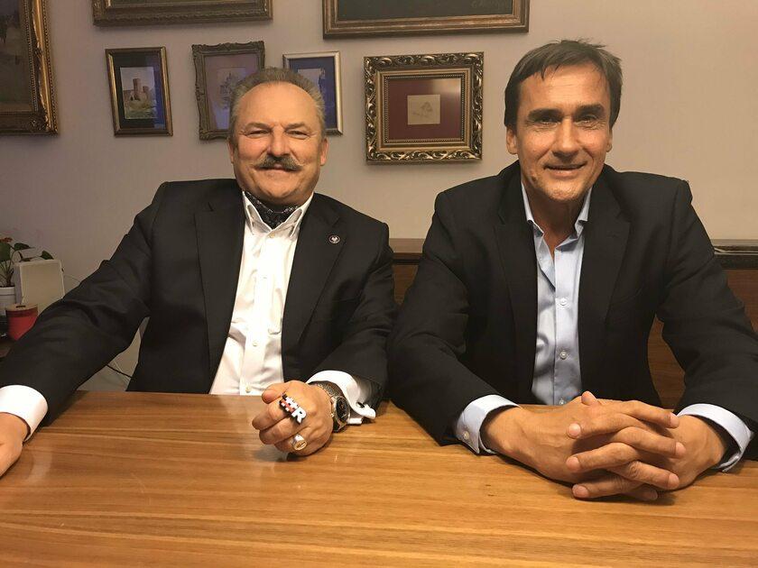 Marek Jakubiak i Mariusz Max Kolonko