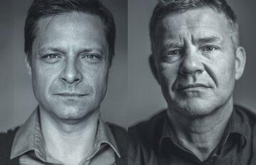 """Marek Sekielski i Artur Nowak, autorzy książki """"Ogarnij się czyli jak wychodziliśmy z szamba"""""""