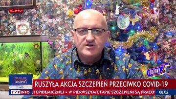 Marian Kowalski w programie #Jedziemy na antenie TVP Info