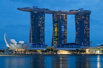 Marina Bay Sands i ArtScience Museum, Singapur