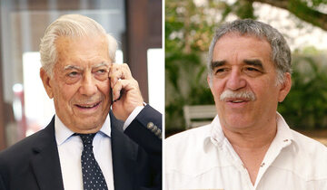 Mario Vargas Llosa i Gabriel Garcia Marquez