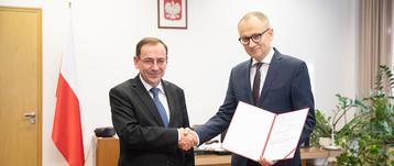 Mariusz Kamiński i Błażej Poboży