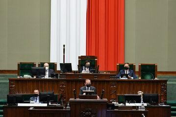 Mariusz Kamiński w Sejmie