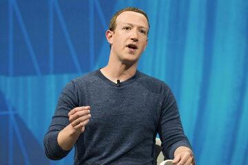 Mark Zuckerberg, właściciel i szef Facebooka