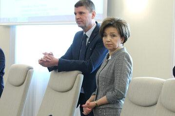 Marlena Maląg i Dariusz Piontkowski