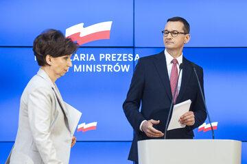 Marlena Maląg i Mateusz Morawiecki