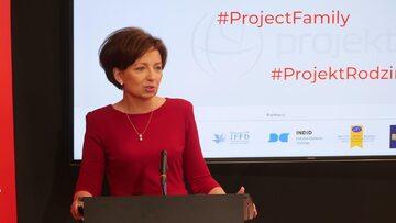 Marlena Maląg na prezentacji Polskiego Ładu