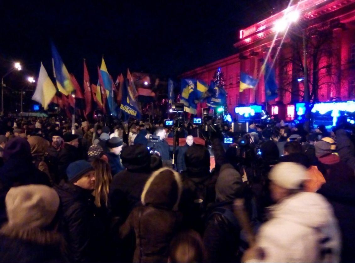 Marsz ku czci Stepana Bandery