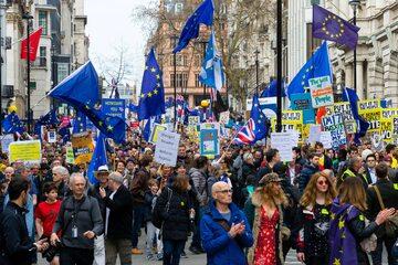 Marsz w Londynie