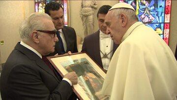 Martin Scorsese i papież Franciszek