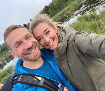 Martyna Wojciechowska i Przemysław Kossakowski