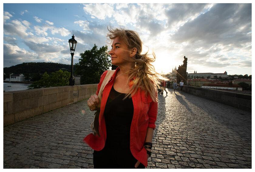 Martyna Wojciechowska w Czechach