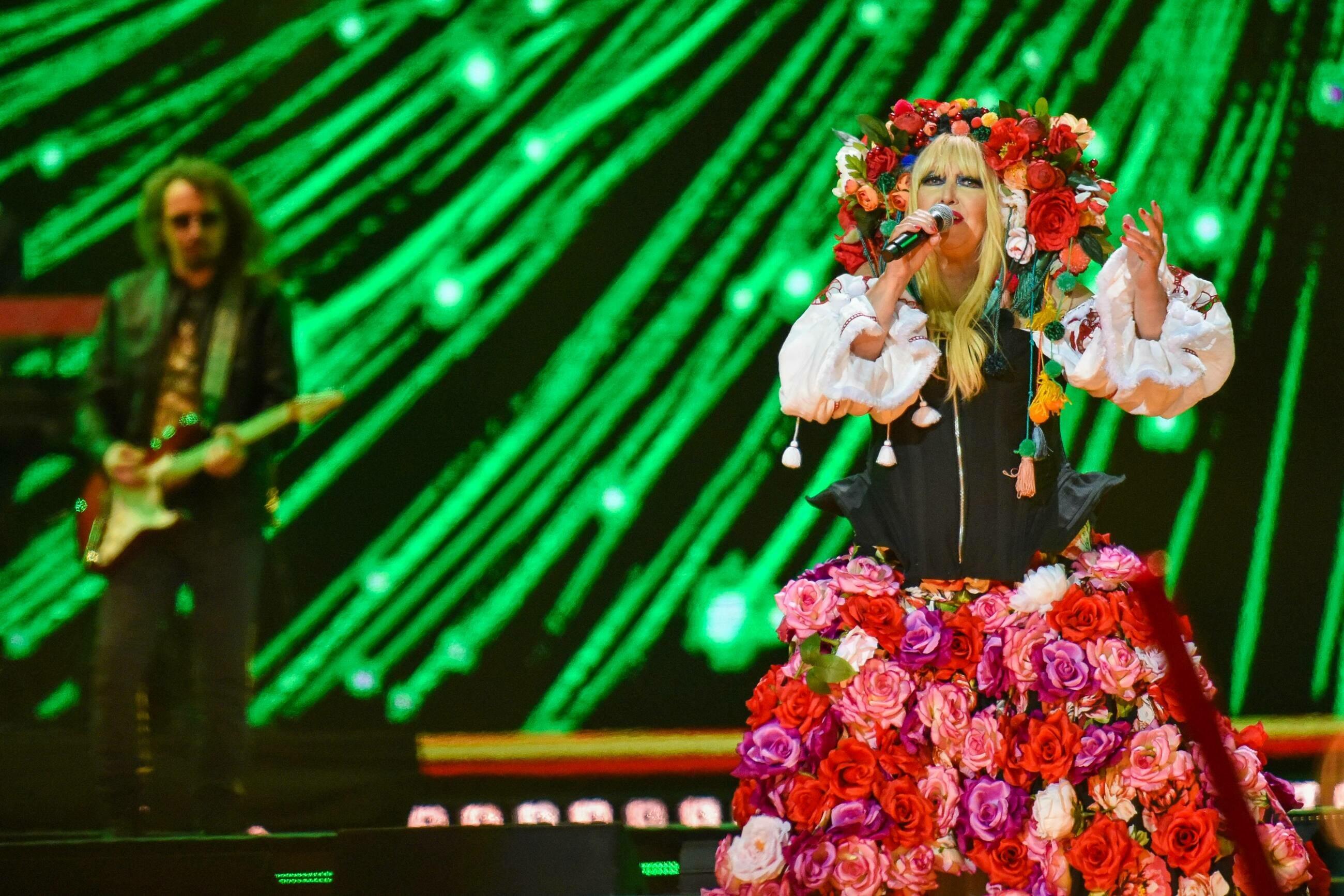 Maryla Rodowicz podczas jednego z sylwestrowych występów