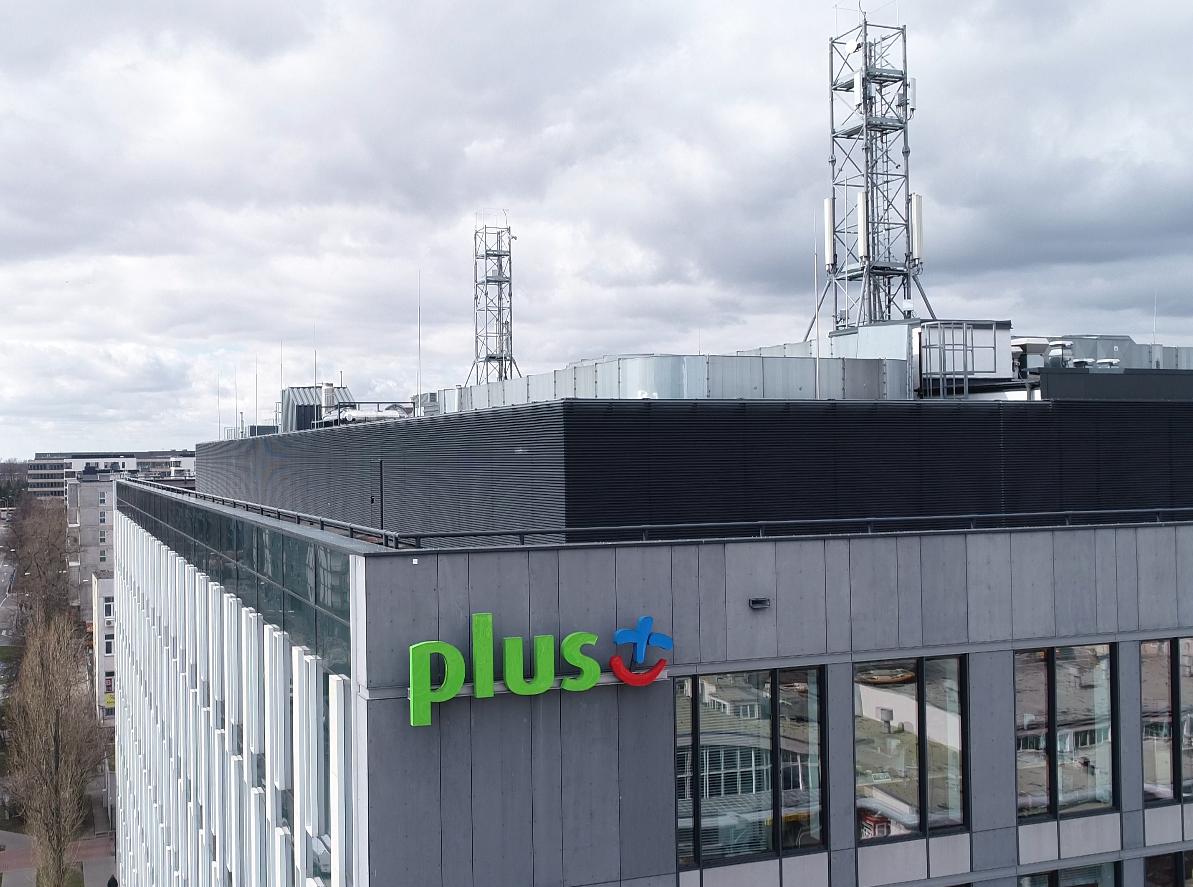 Maszty sieci Plus