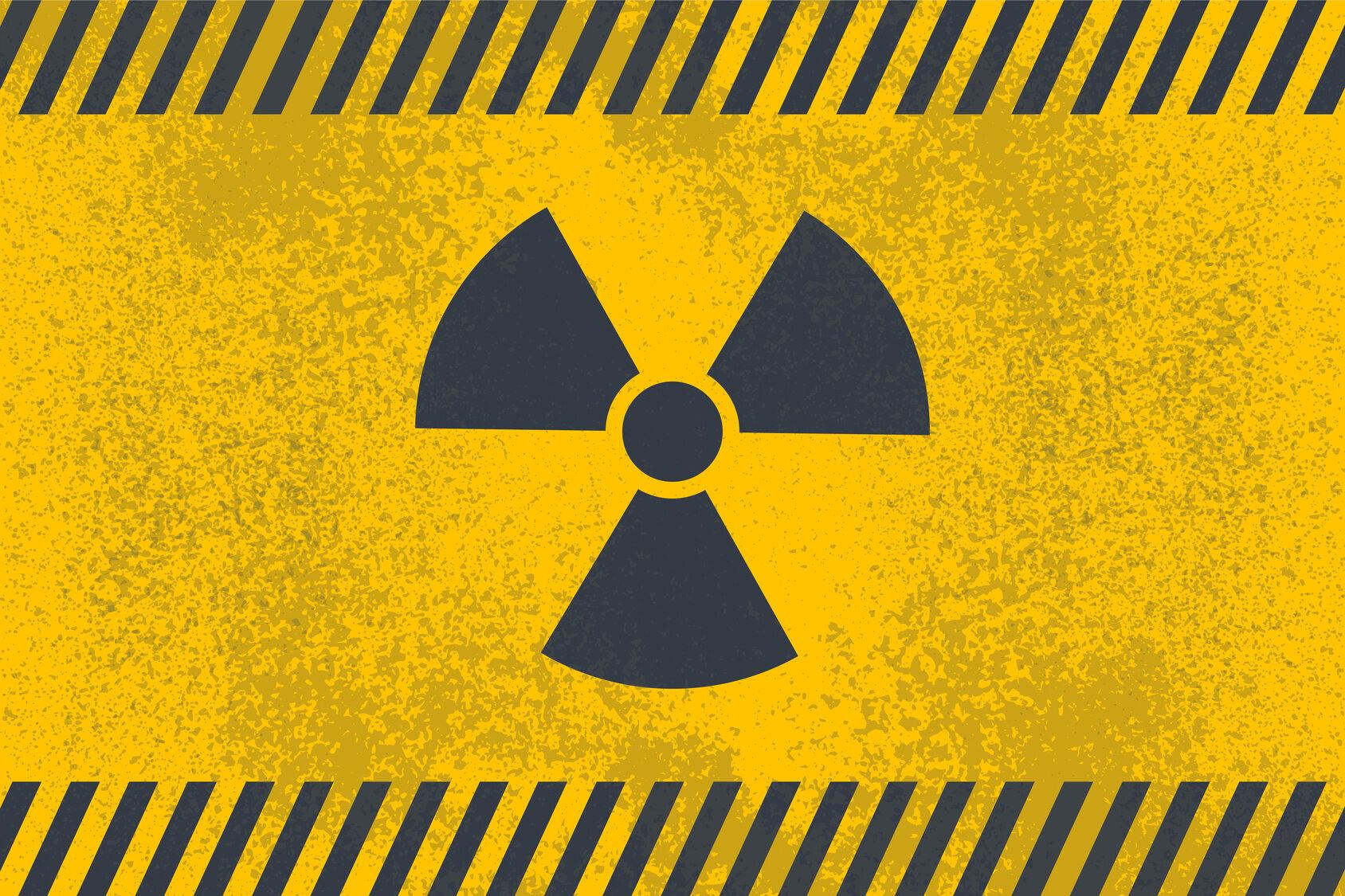 Materiał radioaktywny, zdjęcie ilustracyjne