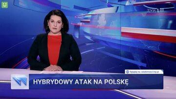 """Materiał """"Wiadomości"""" TVP"""