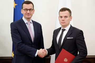 Mateusz Morawiecki i Jacek Jastrzębski