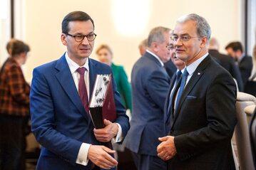 Mateusz Morawiecki i Jerzy Kwieciński