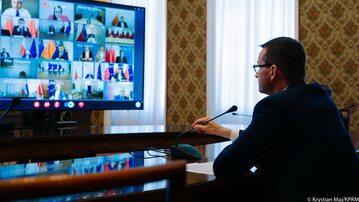 Mateusz Morawiecki na posiedzeniu RZZK