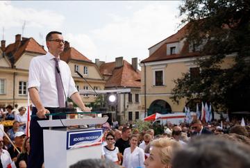 Mateusz Morawiecki w Sandomierzu