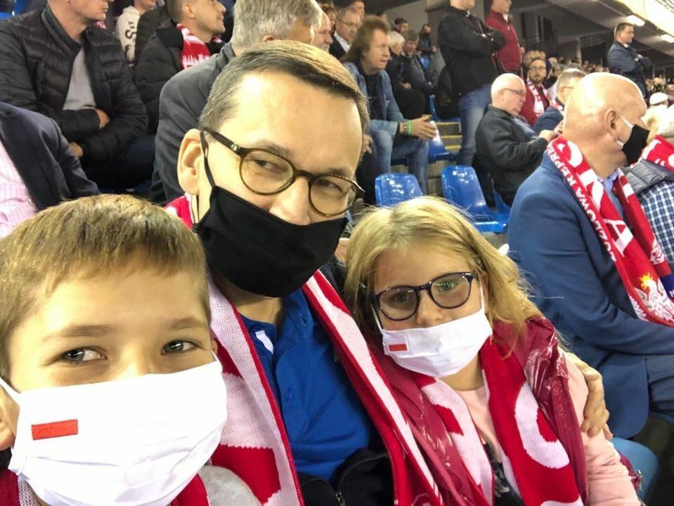 Mateusz Morawiecki z dziećmi