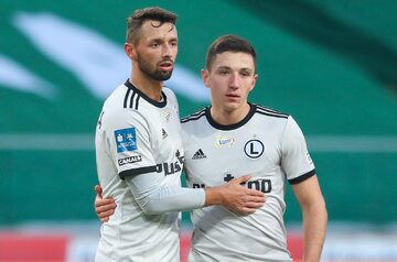 Mateusz Wieteska i Bartosz Slisz