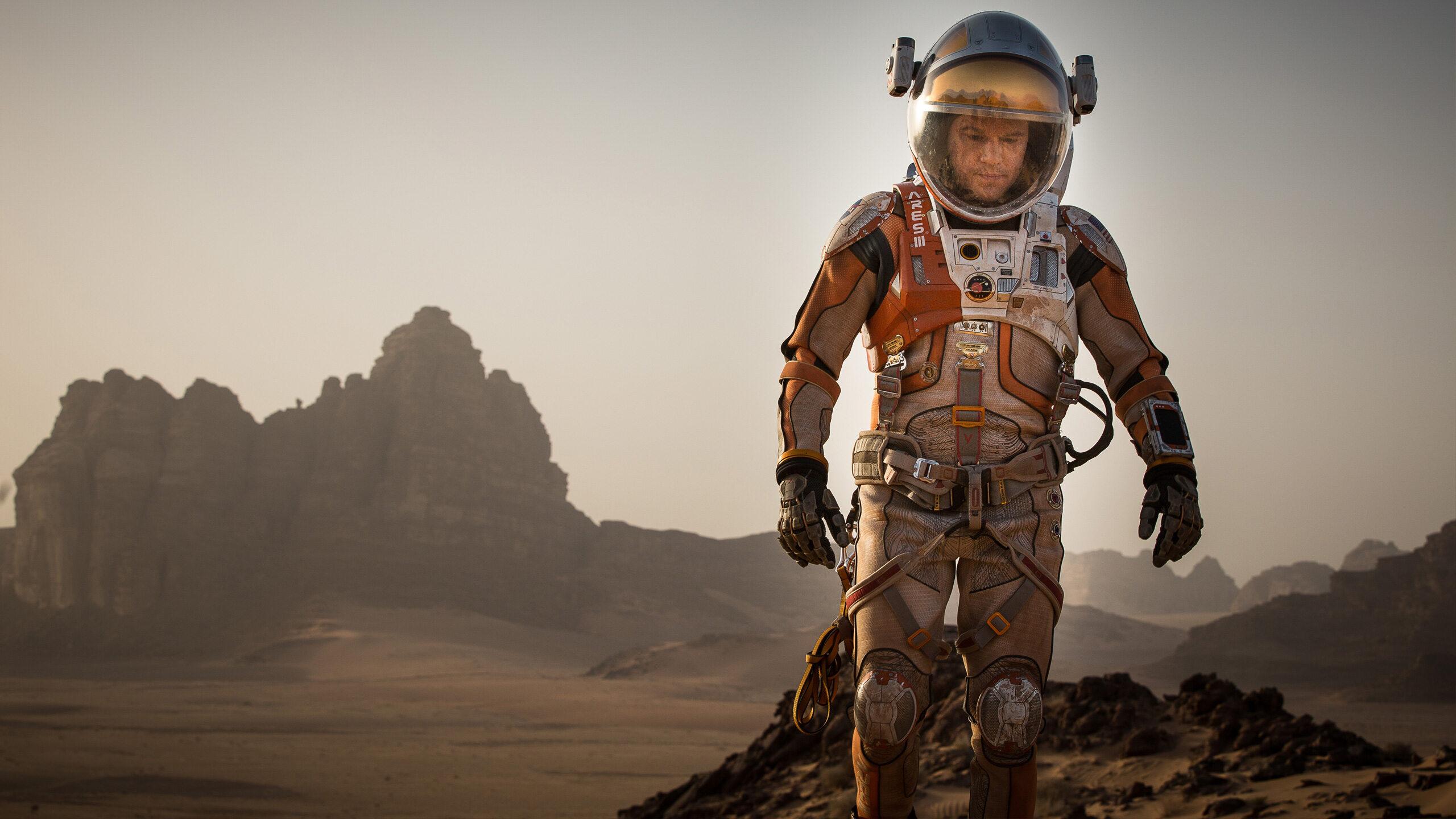 Matt Damon w filmie Marsjanin / The Martian (2015)